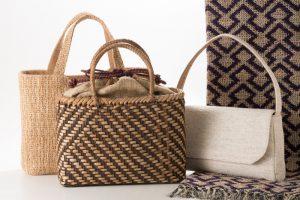 原始の人は何を着ていたか?木や草で編む・織る原始布・古代織展