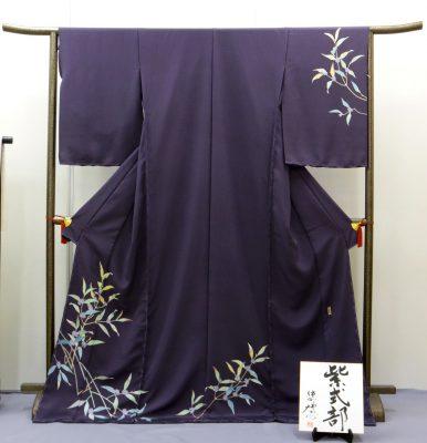 加賀友禅 訪問着 『紫式部』 作:中町博志